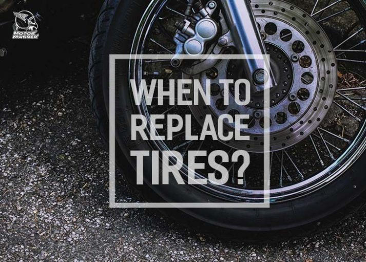 when to replace motorcycle tires