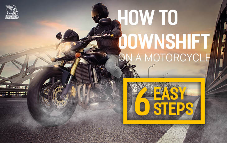 how to downshift on a motorcycle