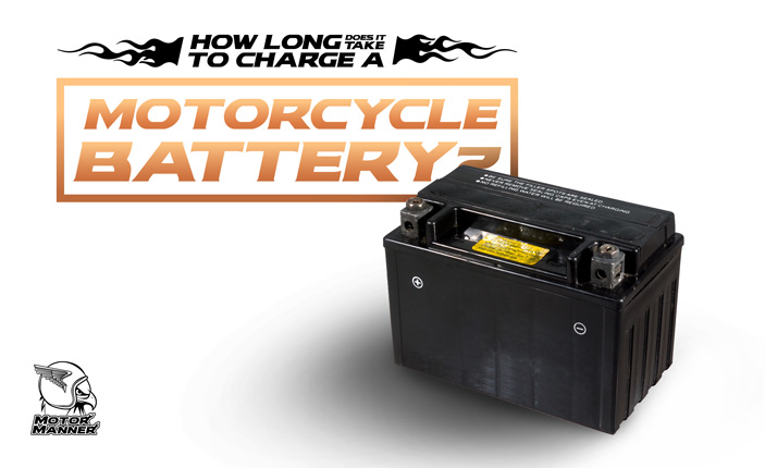 how long does it take to charge a motorcycle battery