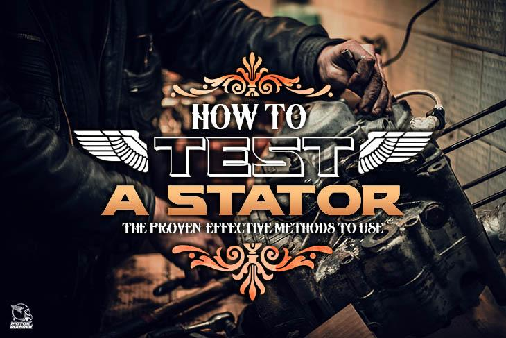 how to test a stator