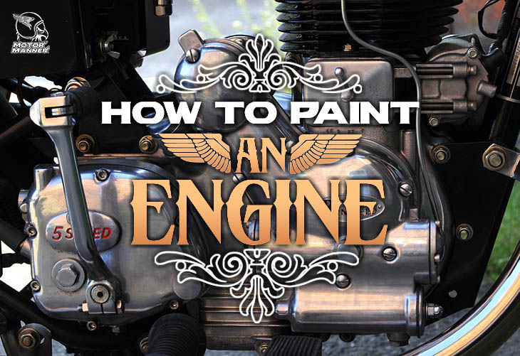 how to paint an engine