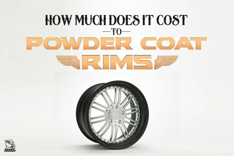 how much does it cost to powdercoat rims