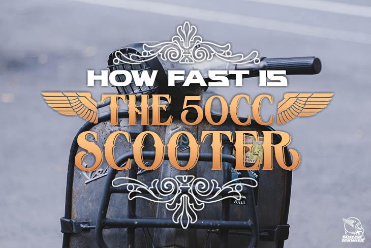 how fast is 50cc